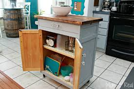 Inexpensive Kitchen Island Simple And Inexpensive Kitchen Storage Ideas Mom 4 Real