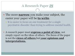 thesis paper vs research paper