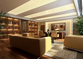 Modern Luxury Office Modern Chinese Style CEO Office Interior - Interior design chinese style