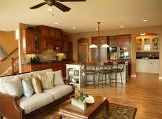 Open Kitchen Floor Plans Pictures Working With Open Living Spaces Open Floor Kitchen Living Rooms