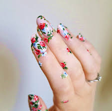 40 lovely floral nail art ideas to bloom your mood preppy chic