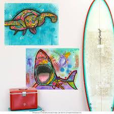 sea turtle dean russo pop art wall decal removable stickers sea turtle dean russo pop art wall decal close video