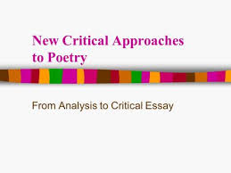 New Criticism  amp  Some More Love Poems Central Questions How do we     SlidePlayer