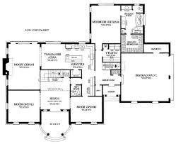 Simple 4 Bedroom House Plans by Simple Modern House Floor Plans 1000 Images About Ideas For The