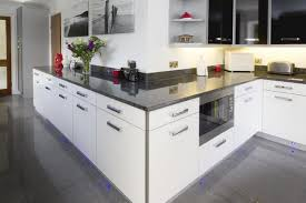 brilliant white kitchen units with grey worktop granite google