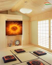 om painting aum yoga poster yoga wall decor cosmic fission