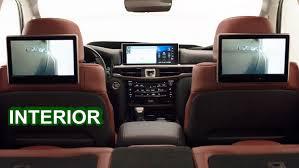 lexus jeep 2016 interior 2016 lexus lx 570 interior youtube