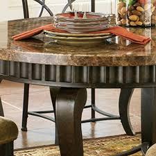 Steve Silver Dining Room Furniture Steve Silver Hamlyn Round Dining Table W Marble Top U0026 Metal Base