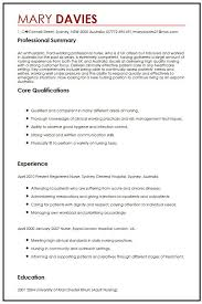 Resume Australia Examples by Cv Example For Expats Myperfectcv