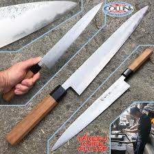 takefu village sujihiki knife 270mm by mr kanehiro kintaro
