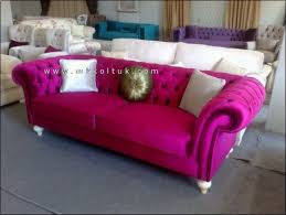 Pink Sofa Bed by Pink Sofa On Sale Couch Pinterest Velvet Chesterfield Sofa
