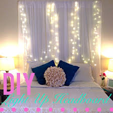 diy light up headboard youtube