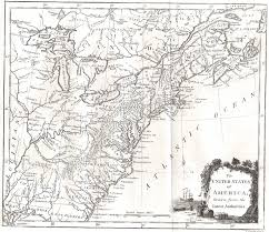 Blank State Map Of Usa by 1790 To 94 Pennsylvania Maps