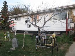 outside halloween decorations ideas image of halloween home decor