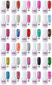 harmony gelish nail polish color chart best nail ideas