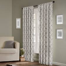madison park ella curtain panel by madison park grey curtains
