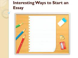 writing hooks for essays Kibin