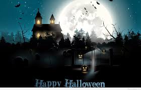 scary moon background scary halloween day wish with background