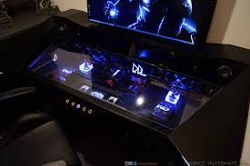 Gameing Desk by Gaming Desk Mods Rog Republic Of Gamers Global