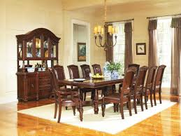 Thomasville Dining Room Chairs by 11pc Mahogany Dining Room Set Chippendale China Buffet Ebay Image