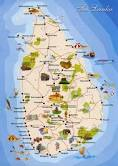 The Travel map of Sri Lanka