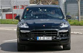 Porsche Cayenne Inside - 2018 porsche cayenne spied inside and out with cleaner look