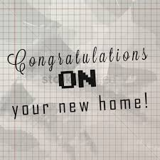 Home Design Graph Paper by Congratulations On Your New Home On Grid Paper Vector Image