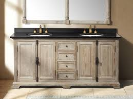How To Choose A Bathroom Vanity by Rustic Bathrooms Farmhouse Vanity 72 Inch Driftwood Grey Double