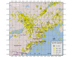 Bc Campus Map Northeast Earthquake Catalogs Weston Observatory Boston College