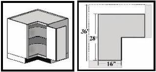 Base Corner Cabinet Dimensions Bar Cabinet - Corner kitchen base cabinet
