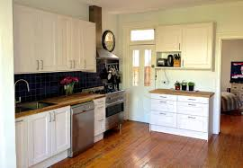 ikea wood countertop country style kitchen ideas with integrated