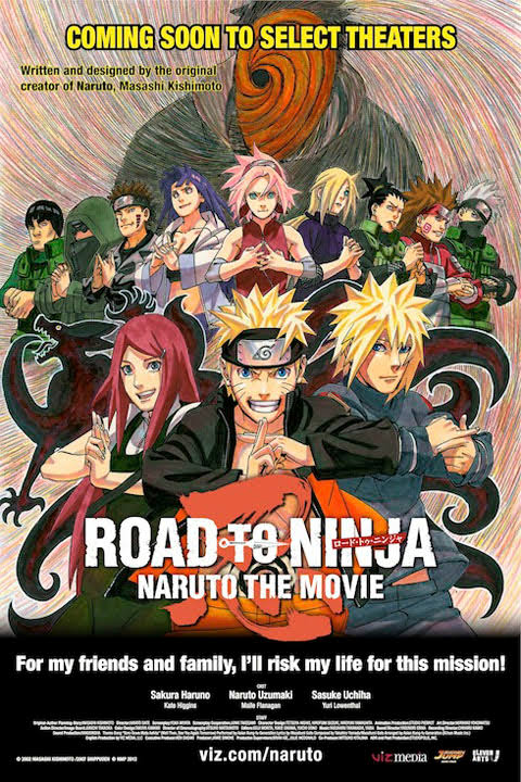 Road to Ninja: Naruto the Movie -Naruto Shippuuden Movie 6 : Road To Ninja