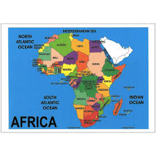 Map Of Mali Africa by Map Of Africa Map Of Africa Chart Depicta Charts