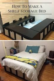 Make A Platform Bed With Storage by Best 25 Under Bed Storage Ideas On Pinterest Bedding Storage