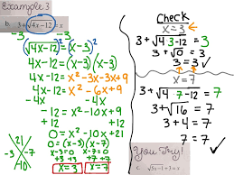 showme solving square root and other radical equations