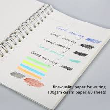 paper for writing aliexpress com buy a5 a6 spiral book coil notebook to do lined aliexpress com buy a5 a6 spiral book coil notebook to do lined dot blank grid paper journal diary sketchbook for school supplies stationery store from