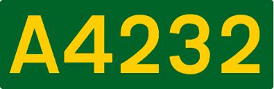 A4232 road
