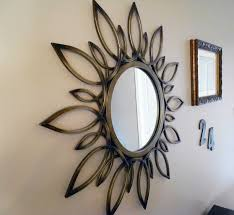 diy round mirror frame design