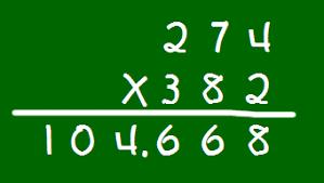 Puedes resolver cien multiplicaciones sencillas en tres minutos?