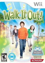 Walk It Out game for the Wii
