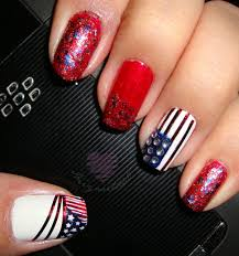 notd july 4th patriotic nails hiiyooitscat beauty diaries