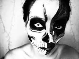 halloween skull makeup tutorials images