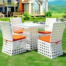 White Wicker Outdoor Patio Furniture by White Patio Furniture Sets U2013 Smashingplates Us