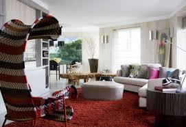 Urban Living Room Decor Interior Mid Century Modern Brazilian Living Room Decor Using