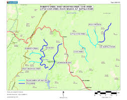 Virginia On Map by Virginia Deq Exceptional State Waters Tier Iii