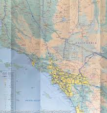 Map Of The Usa by Map Of The Pacific Coast Of The Usa Itm U2013 Mapscompany