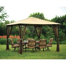 Replacement Canopy Covers by Amazon Com Living Accents 10ft X 10ft Gazebo Netting Gazebo