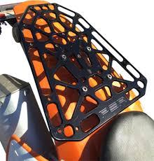 psr motorcycle dual sport luggage rack for suzuki drz 400 00 16 05