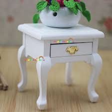compare prices on 1 drawer bedside table online shopping buy low bed side table cabinet w drawer for bedside lamp white dollhouse miniatures 1 12