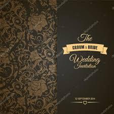 Editable Wedding Invitation Cards Free Wedding Invitation Card Editable With Background Chevron U2014 Stock